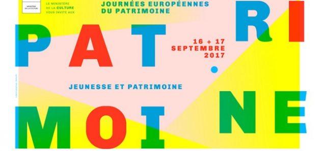 Journées européennes du patrimoine : 16 et 17 septembre