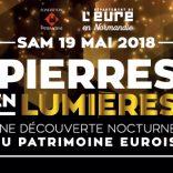 Pierres en lumières : samedi 19 mai 2018