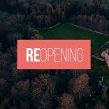 Good news: REOPENING starting Friday, May 14