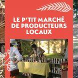 Le p'tit marché de producteurs locaux